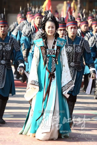 Lady Mi shil and the Hwa Rang corps courtesy of imbc