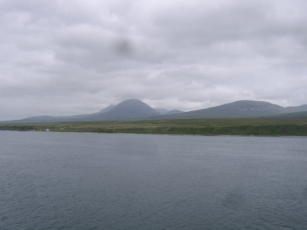 The Paps of Jura seen from the Islay ferry