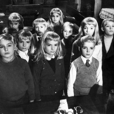 The Children in Village of the Damned.