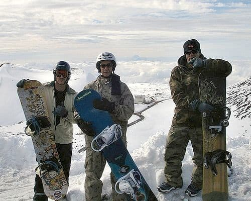 Photos of Snow Boarder Braddas Ike, Keahi and Wayne Boy