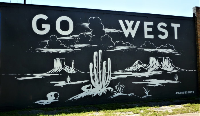Go West Wall