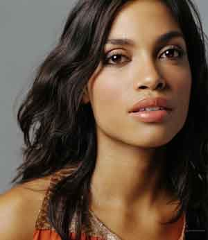 Rosario Dawson, the beauty.
