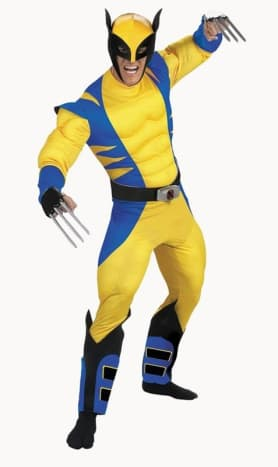 X Men - Wolverine Costume