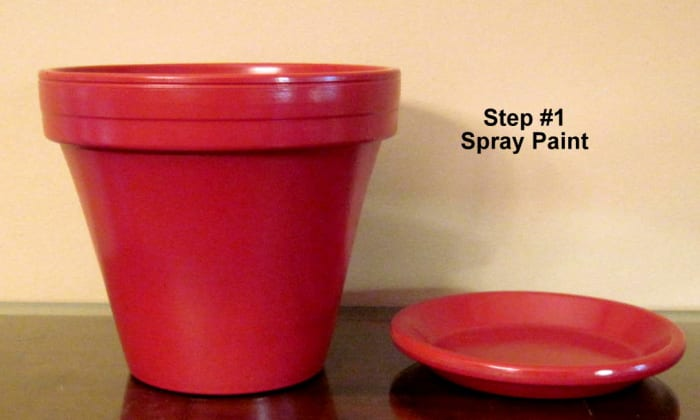 How To Make A Clay Terra Cotta Flower Pot Candy Dish Step By Step Instructions Hubpages