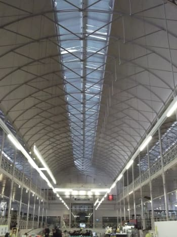 Prince Albert's Prefabricated Metal Roof from the great exhibition