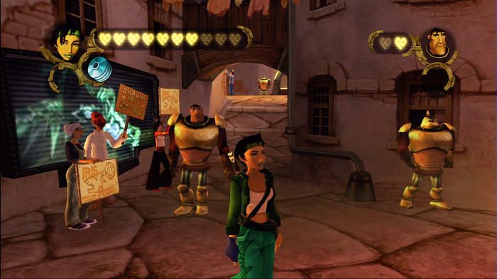 Beyond Good and Evil Gameplay