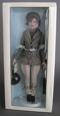 Jackie Kennedy Horse Riding Doll by Franklin Mint