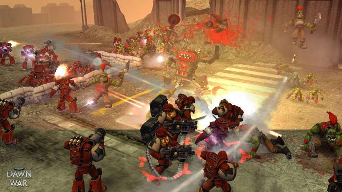 Warhammer 40,000: Dawn of War Gameplay