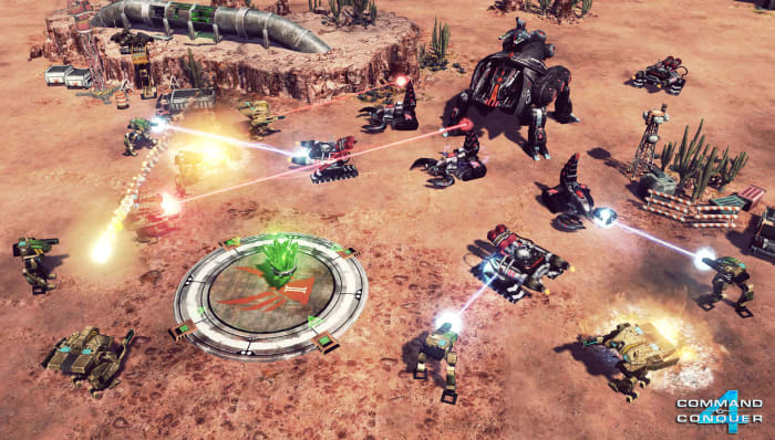 Command & Conquer 4 Gameplay
