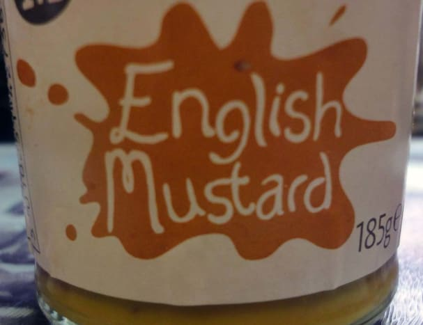 English Mustard, great for flavouring potatoes