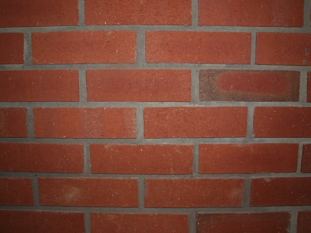 Inspiration for the Quilt Design - Brick Wall