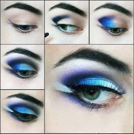 A bold, and enticing look done with these easy steps will have to applying makeup like a professional!
