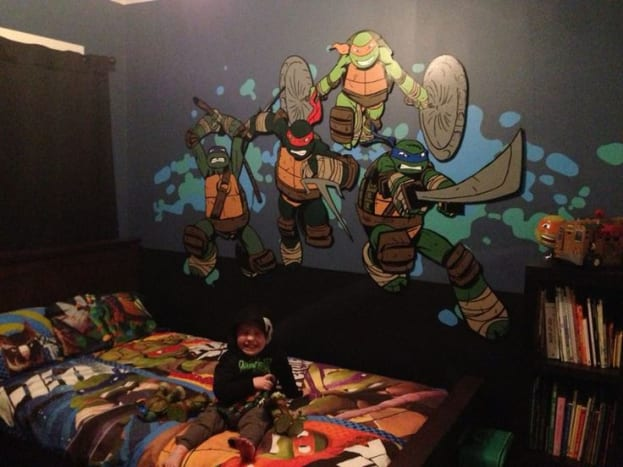 teenage-mutant-ninja-turtles-bedroom