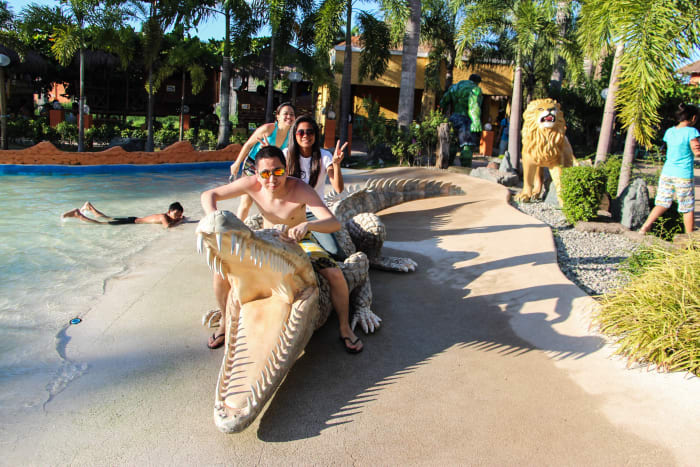 Amazing animal figures in Coolwaves Waterpark Resort!