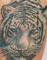 White tiger tattoo designs can be inspired by simply looking at other white tiger tattoos. This is a great way to gain inspiration and ideas for your white tattoo.