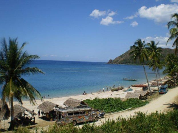 White sand/peeble beach of Bagolatao, shared last Feb.17, 2015 by my cousin Meeseey B. Ocenar