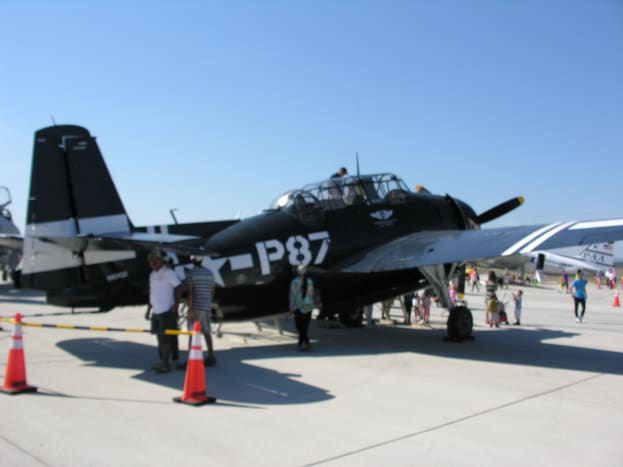 A TBF Avenger of the Commemorative Air Force.