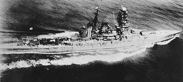 The battleship Yamato.