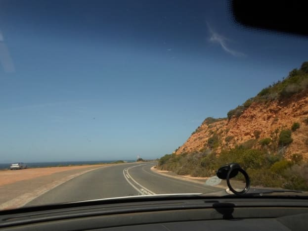 Between Simon's Town and Cape Point, South Africa
