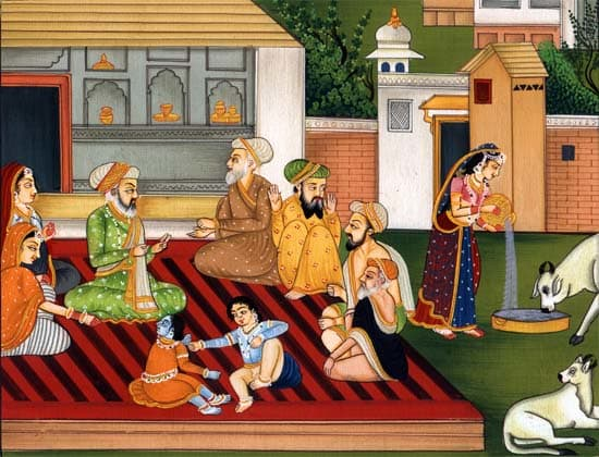 The Mughal Influence on Pahari Paintings
