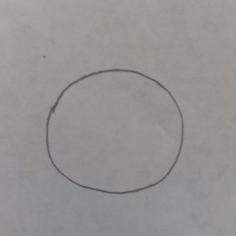 Step 1. Draw a circle.