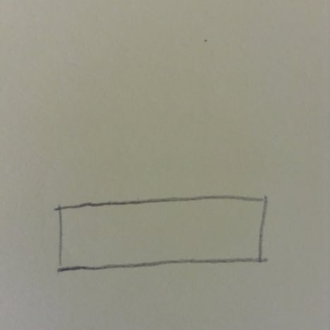 Step 1. Draw a rectangle.