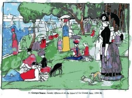 Toulouse-Lautrec Coloring Page