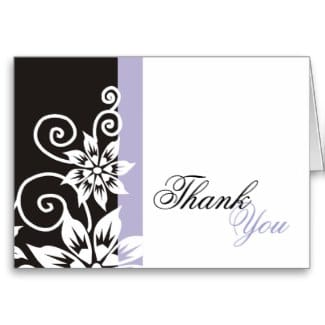 Thank You Card Collection By Sema