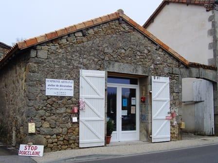 Symphonie Artisanat Augignac shop front