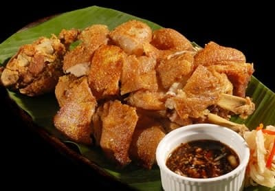 Crispy Pata in the house!!! (Photo courtesy of Bob Marlin Restaurant and Grill)