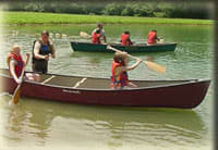 Canoe Trips on Pigeon Creek from wesselmannaturesociety.org