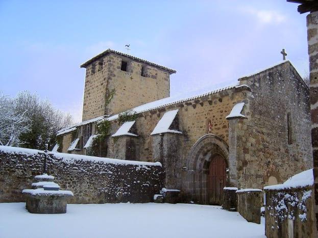 Videix 12th century church