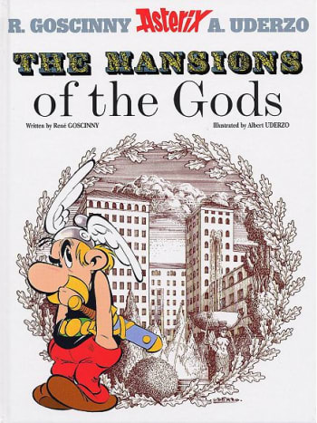 Canny Caesar plans to built a modern mansion near the Gaulish village and deploys architect Squareonthehypotenus to the dirty deed. Asterix sabotages the architect's plan to use slaves to build this mansion by any means - leading to hilarious consequ