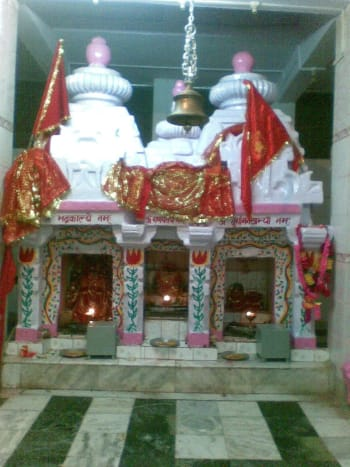 Bhadr Kali Mata Temple at Jakholi in Arki