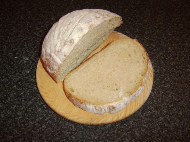 Artisan boule bread