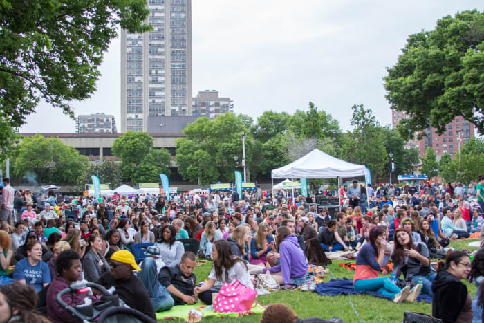 Jazz in the Park, summer 2014