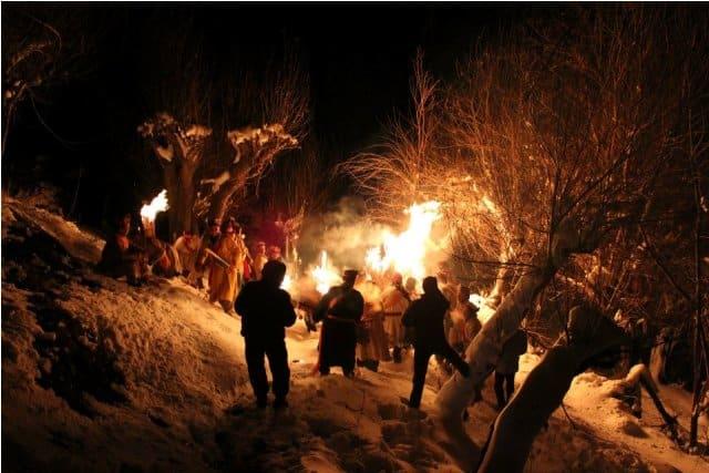 Halda festival in Lahaul valley