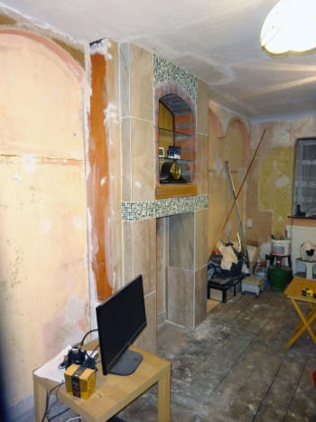 First phases of renovation