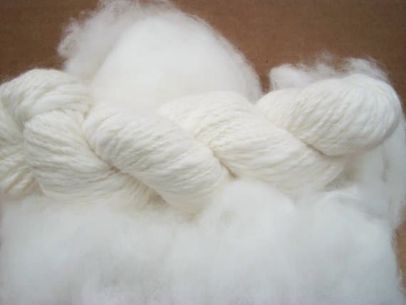 An Angora fibers are so luxurious.