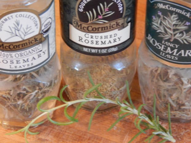 Dried Rosemary, Crushed Rosemary, Fresh Rosemary