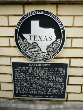 Texas Historical Landmark designation