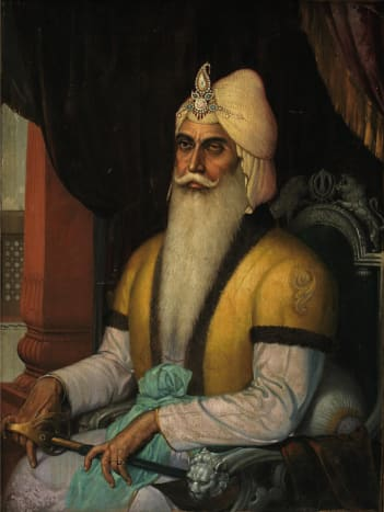 Sotheby's To Auction Sardar Sobha Singh Painting of Maharajah Ranjit Singh in New York