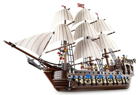 Imperial Flagship (10210)  Released 2010.  1,618 pieces!