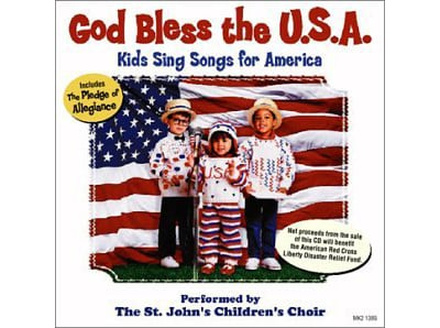 This well done collection includes America the Beautiful, This Land is Your Land, You're a Grand Old Flag, Yankee Doodle and My Country Tis of Thee.