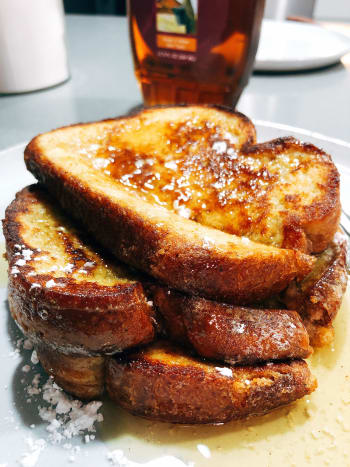 I do like a little bit of sweet during the cold weather. French toast is a perfect example comfort food my family love to have it!