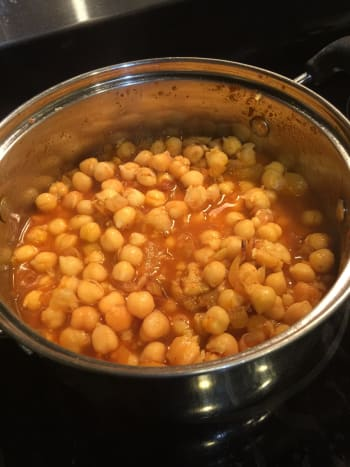 Final Product- Chana Masala