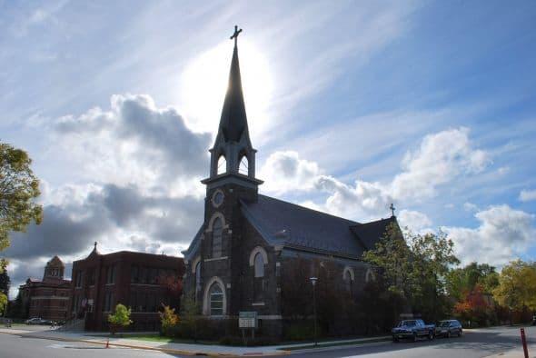 St. Thomas Aquinas Church, 4th St. at 9th Ave. W.