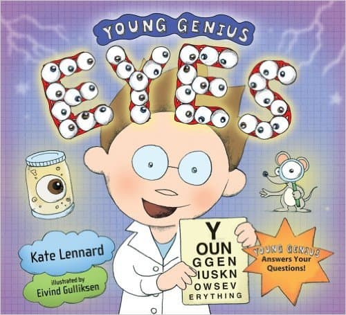 Young Genius: Eyes by Kate Lennard - Images are from amazon.com.