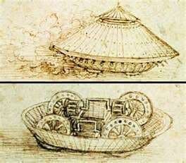 Leonardo's Design for an Armored Tank