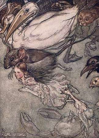 Arthur Rackham: Alice in Wonderland